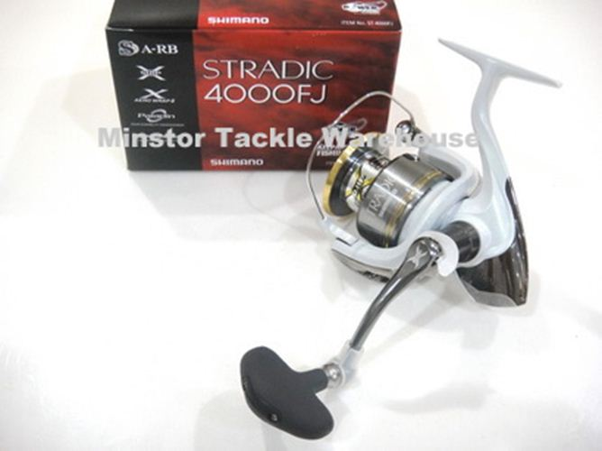 Shimano Stradic 4000FJ Spinning Reel 4000 FJ (2012 NEW MODEL) | eBay